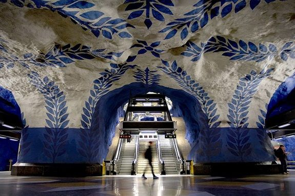 The-Tunnelbana-in-Stockholm