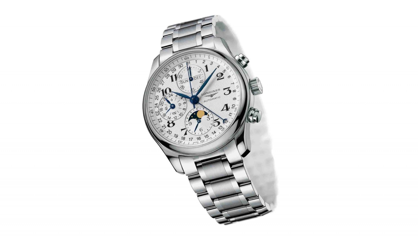 Longines Moon Phase Full Calendar