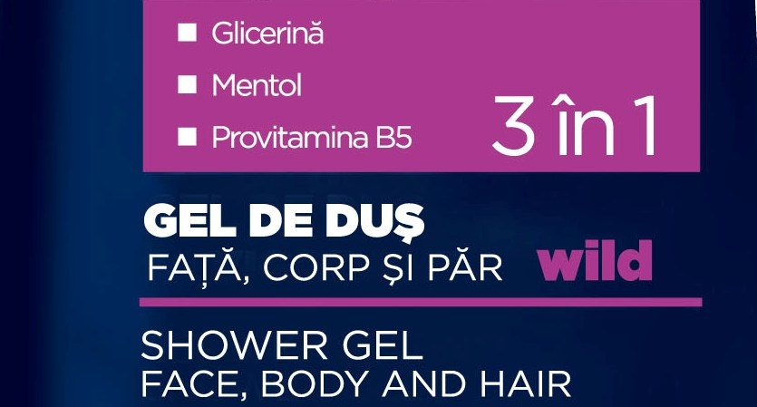 Gel de dus 3 in 1 Gerovital H3