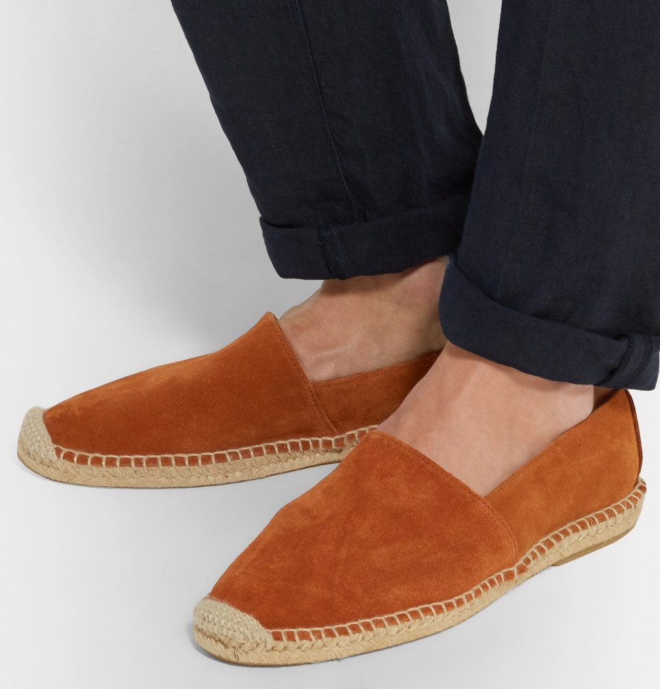 espadrile orange